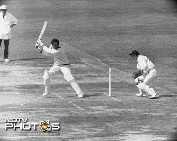 """In a match disrupted by a bomb scare, a 37-year-old Garry Sobers - arguably cricket's greatest all-rounder - scores 150 not out as West Indies hammer England by an innings and 226 runs.<br><br><a href=""""http://www.ndtv.com/convergence/ndtv/new/forums/readforum.aspx?trdid=4196"""">Do you think any other Test match should be added in this list? Tell us here</a>"""