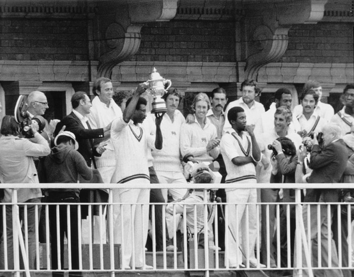 The 1979 edition of the World Cup saw Champions West Indies start as the favourites in a competition which offered more or less the same teams as its previous version. The only change being minnows East Africa, who did not win a single match in the 1975 World Cup being replaced by Canada which meant that no African nation had qualified for the event.<br><br> England and West Indies both enjoyed unbeaten runs to the Final and a keen contest was expected out of them. Having not chased a score in excess of 160 in the tournament, the batting line-up of England was virtually untested. <br><br>The England bowling, which prior to the match had only conceded at an average of 2.5 runs an over, failed to restrict the West Indies, which denied the hosts any chance of winning their first World Cup. (Photo: Getty Images)