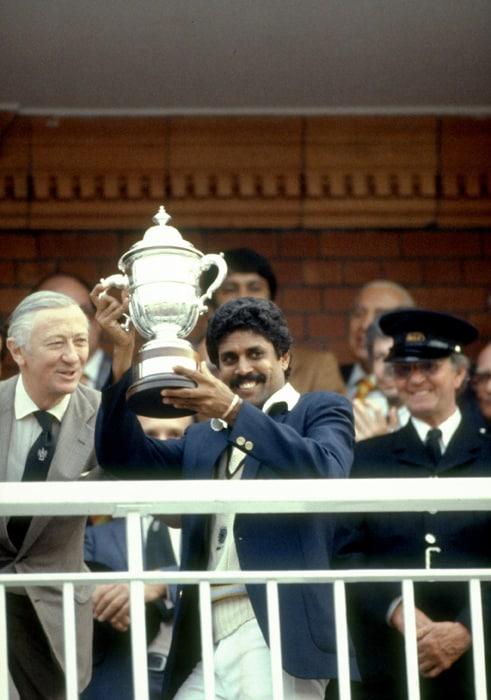 India won the Cricket World Cup in 1983 for the very first time. Though the feat was repeated this year by MS Dhoni & Co., nothing can match the euphoria of 1983. On the 28th anniversary of that glorious win, we relive the moments...<br><br>The 1983 edition of the World Cup saw the African challenge return with the inclusion of Zimbabwe for the first time. The other seven teams remained the same but there was a change in the format. The two-group division set-up remained, but this time each team had to play each other twice. <br><br> As was the case with the 1979 World Cup, The West Indies started as the overwhelming favourites with England and Australia posing considerable threat. But the real threat was realized during the group stage when Australia and West Indies were beaten by Zimbabwe and India respectively. <br><br> At the end of the group stage, England and West Indies topped their groups registering five wins each out of the six matches they had played. As they were drawn in separate semi final matches, a repeat of the 1979 World Cup Final looked highly likely, but destiny had written itself in a manner that changed the sport forever. (Photo: Getty Images)