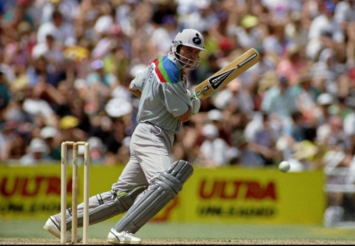 Meanwhile co-hosts New Zealand had a good run of form in the group stages. Captain Martin Crowe defied conventions, including a move to give the new ball to spinner Patel to surprise the opposition; a move that paid off as they beat Australia in the first game of the tournament. (Photo: Getty Images)