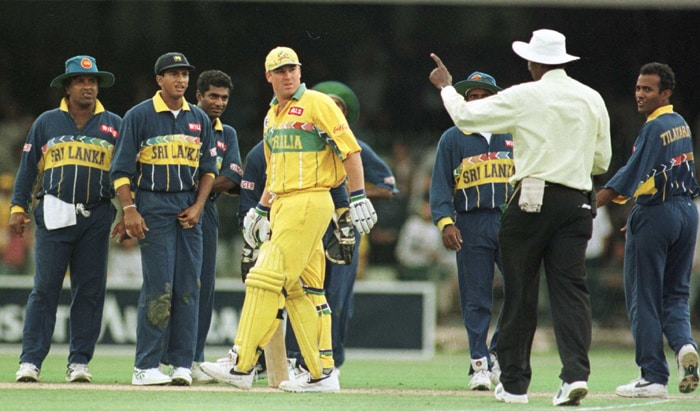 The Sri Lankans used the sub-continent conditions well to employ spin bowling, pinch-hitting and some well implemented tactics to remain unbeaten in the tournament. (Photo: Getty Images)