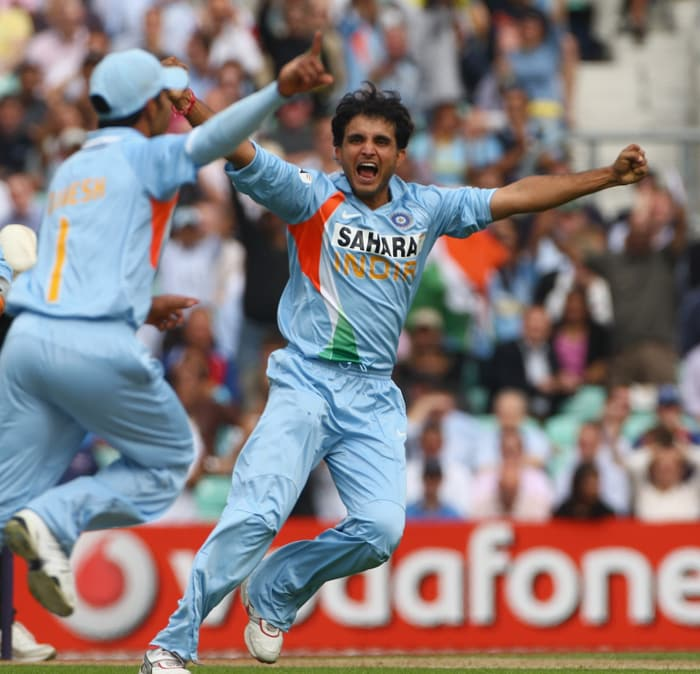 Sourav Ganguly's Indians won eight successive matches to emerge deserving challengers to Australia in the final.