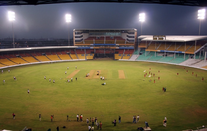 SARDAR PATEL STADIUM (Ahmedabad, India)<br><br> Capacity: 54,000 <br> <br> It was renovated ahead of the Champions Trophy in 2006, when three new pitches and a new outfield were laid, and state of the art floodlights and covered stands were added. The pitch here used to aid bowlers but recent matches have seen a benign, batting beauty being rolled out for teams.