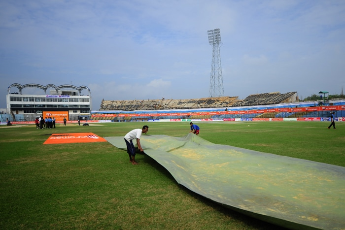 ZAHUR AHMED CHOWDHURY STADIUM (Chittagong, Bangladesh)<br><br> Capacity: 25,000<br><br> The stadium was one of the five purpose-built cricket grounds established in the run-up to the Under-19 Cricket World Cup in 2004. The last ODI in December last year saw the hosts beat Zimbabwe comfortably by six wickets while chasing a modest target of 189 runs.