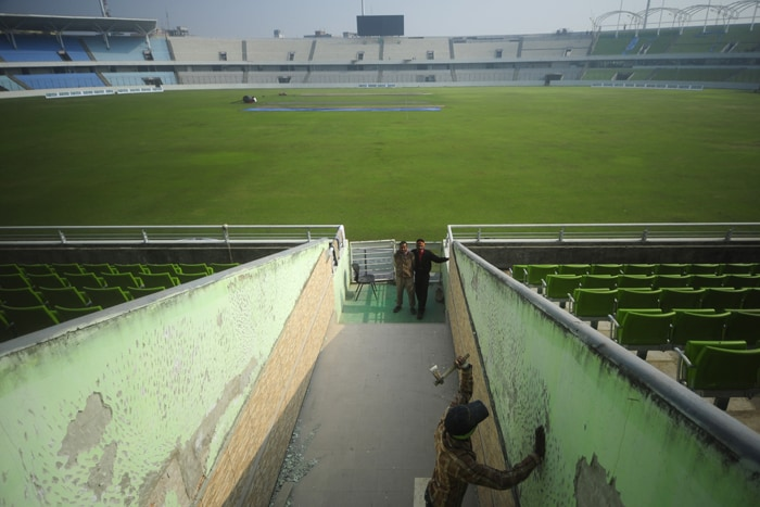 SHER-E-BANGLA CRICKET STADIUM (Dhaka, Bangladesh)<br><br> Capacity: 25,000<br><br> The venue will host six World Cup matches, including two quarterfinals. The floodlights here had to be changed as they had the ones used for football matches. However, an ODI between Bangladesh and Zimbabwe was changed to a day game from a day-night one in December last year because the lights were not fully functional