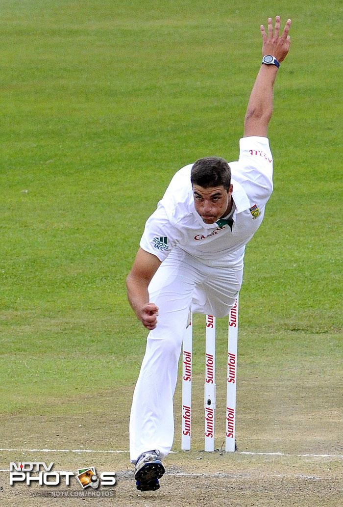 <b>Marchant de Lange</b><br><br>South Africa can't just stop producing quality pace bowlers. Marchant de Lange's debut got him 7 wickets in the very first innings. South Africa lost the match but the 21-year od left enough promise for the Proteas to look for a bright future in him.
