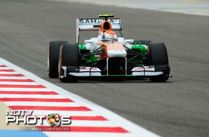 Force India drivers Paul di Resta and Adrian Sutil will start from 5th and 6th on the grid.