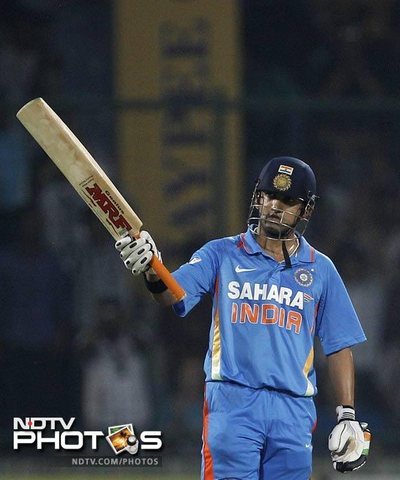 Gambhir followed within minutes and by now, the fate of the match had swung in India's favour completely.
