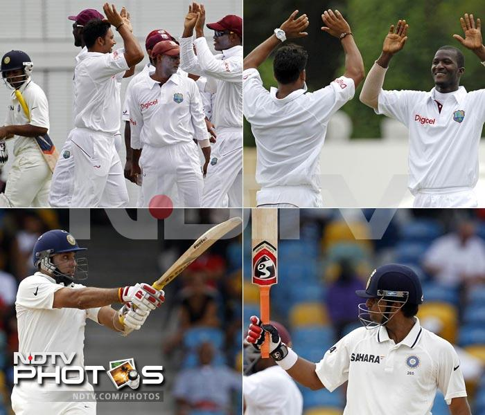 Bridgetown has never had a pitch that favours batting. On the opening day of the second Test, Indian batsmen got a first hand taste of the pace and bounce of the track after being put in to bat by West Indies skipper Darren Sammy.