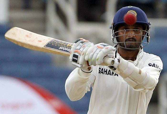 The Indian batting managed 201 in the innings as even Harbhajan looked to struggle for his score of 5.