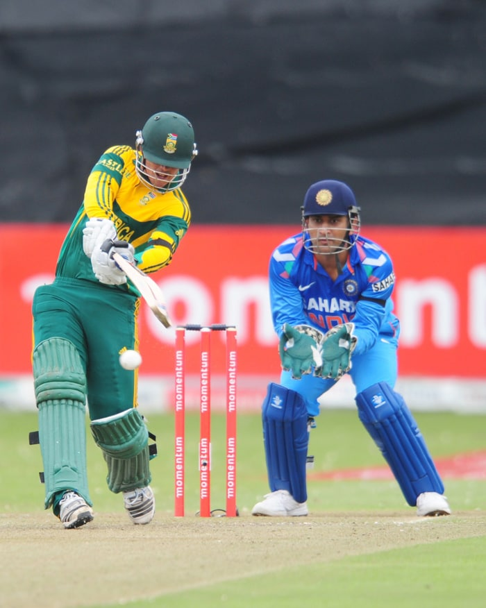 Continuing from where he left off at Johannesburg, De Kock slammed his second consecutive ton and adding a 194-run stand for the first wicket with Hashim Amla. He then followed it up with another ton at Super Sport Park, Centurion to be the highest run-getter in the series with 342 runs.