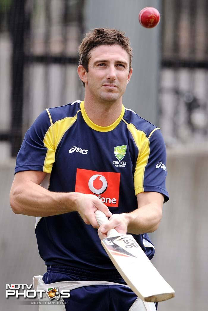 <b>Shaun Marsh:</b> At No. 3 is someone who knocked Ricky Ponting off the No. 3 spot in the Aussie batting line-up. With a scintillating 141 on debut, Shaun Marsh was a much needed addition to their fragile batting. Even though this talented left-handed batsman failed to impress in the first Test with scores of 0 and 3, a big knock from him is always round the corner.