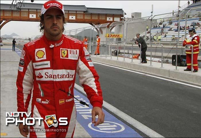 <b>Fernando Alonso, 30, Spain, Ferrari<br> 2005, '06 Champion<br> Race Wins:</b> 27<br> <b>Pole Positions:</b> 20<br><br> Despite two roller coaster seasons, Fernando Alonso still believes Ferrari is capable of providing the Spanish driver with a championship-winning car. The two-time world champion lost the 2010 title to Sebastian Vettel in the last race, three years after losing a chance at the championship because of in-team squabbles with McLaren teammate Lewis Hamilton. But Ferrari is centered on Alonso, who continues to be rated as the best driver on the grid despite his failure to win a title since leaving Renault. Unfortunately, the Italian team has struggled in preseason. If Ferrari can find the necessary boost, you can never rule the 30-year-old out of the title race.