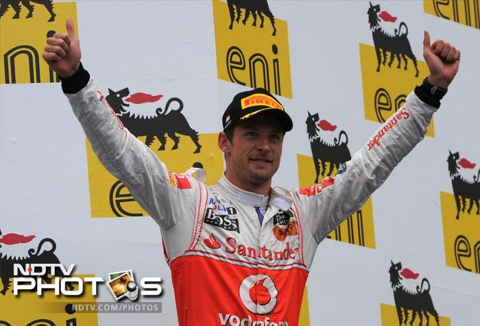 <b>Jenson Button, 32, Britain, McLaren<br> 2009 Champion<br> Race Wins:</b> 12<br> <b>Pole Positions</b>: 7<br><br> Button drove with chilling consistency in the second half of last season, getting a podium position in eight of the last nine races, having missed out on the podium in six of the first 10. He won three GPs and finished in second place overall behind Sebastian Vettel, but also three places above McLaren's designated No. 1, his teammate Lewis Hamilton. This will be Button's third season with McLaren and if he continues to blossom, he will be a candidate to win the F1 championship for the second time. While Hamilton may have more speed, the experienced Button, with more than 200 GPs to his name, is a master at handling changing weather conditions. He proved that by beating Vettel in the rain in Canada.