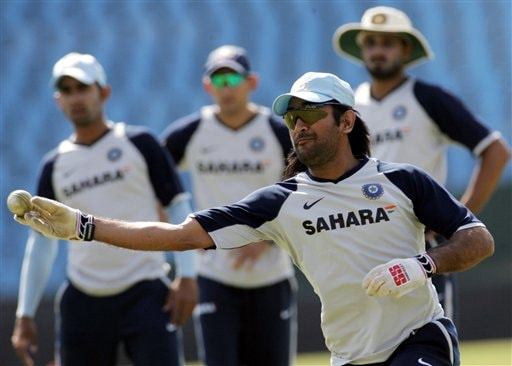 Leading from the front: In just a matter of time, MS Dhoni it seems has become the go to man for the Indian selectors.