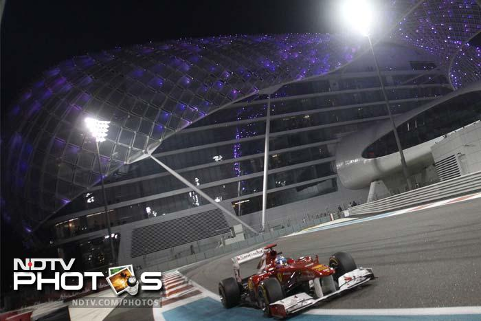 Alonso in his Ferrari, also had a powerful performance and was able to secure his second spot after a close competition.