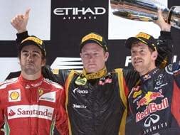 Photo : Abu Dhabi Grand Prix: Raceday