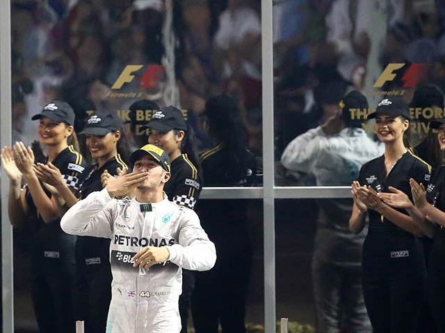Lewis Hamilton Wins Abu Dhabi GP, Claims Second F1 Title