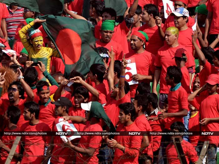 Soon Afghanistan were reduced to 90 for 5 after Mangal was run out and skipper Mohd Nabi fell cheaply. This giving joy to all the Bangladesh home fans gathered at Khan Shaheb Osman Ali Stadium in Fatullah.