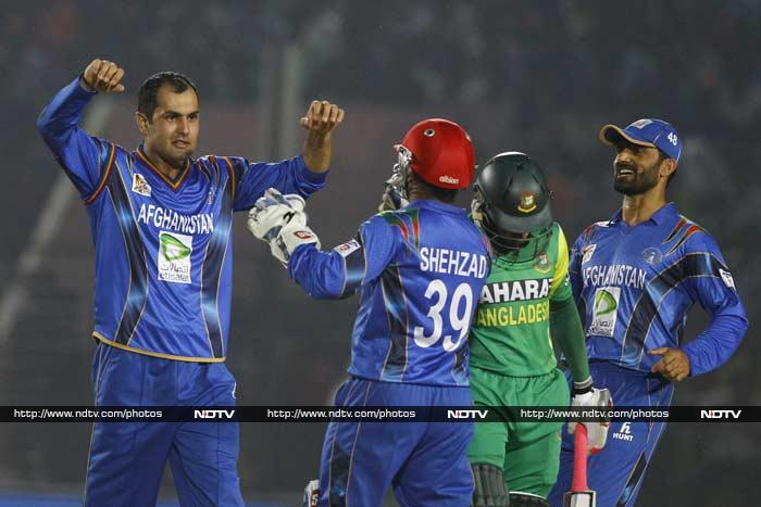 Mohd Nabi took the final wicket, ending a total of three wickets to seal the 32-run win.