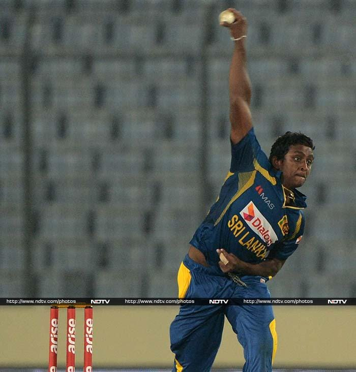 The mystery of Ajantha Mendis was hard to solve for the Afghans, who collapsed in the middle overs.