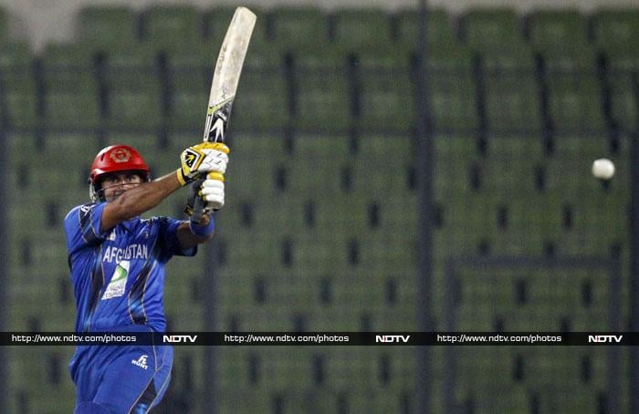 Afghanistan skipper Mohd Nabi was the pick of the batsmen as he hit a strokeful 37 off 42 balls.
