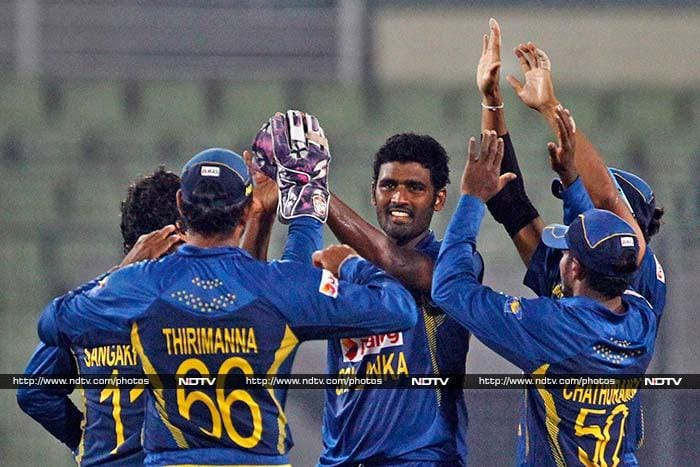 Thisara Perera contributed both with the bat and the ball as he took three wickets to go along with his crucial unbeaten 19 with the bat.