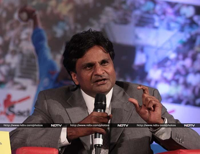 "India's Javagal Srinath has seen Sachin more closely than his counterparts from Pakistan. <br><br>""Sachin never threw his bat around or boasted about his tons. He scored so many tons, he may have been bored actually. So, his celebrations were subdued,"" he is believed to have told the audience during the event. <br><br>Image courtesy: Santosh Nagwekar/NDTV"