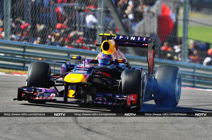 Vettel's teammate Mark Webber finished third.