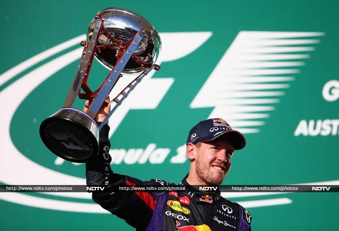 Red Bull's Sebastian Vettel stamped his class yet again when he won the US Grand Prix in Austin Texas. <br><br>All images courtesy AFP.