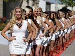 Say Hello to Grid Girls of US Grand Prix