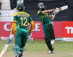 Photo : Amla, De Kock guide South Africa to series win vs India