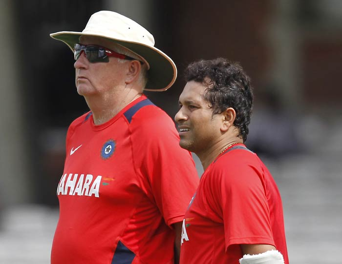 The seniors in the Indian team, whose performance has been largely scattered will hope to get one solid performance at the Oval Test. (AFP Photo)