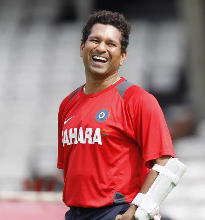 All eyes would once again wait for Sachin Tendulkar's 100th ton. The Master Blaster has managed only one fifty in the series. (AFP Photo)
