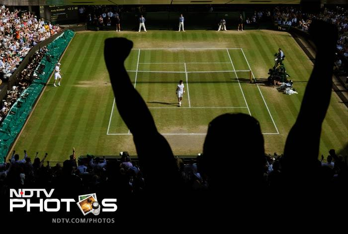 Andy Murray scripted a historic win at Wimbledon when he defeated Novak Djokovic in straight sets.<br><br>While an entire nation stood up to celebrate a title that took 77 years to come, for two women, it was a celebration no one else could quite match.