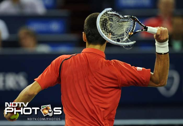 Novak Djokovic and Andy Murray were locked in a close and a tense battle for the crown in Shanghai. Both screamed, wrecked their racquets, huffed and puffed before the Serb finally managed to edge ahead. <br><br>A look at why we think their heart's deserve a break (and so do our ears). (AFP and AP images)