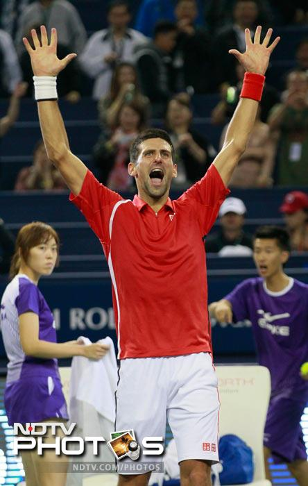 From here, only one man could have walked out smiling.<br><br>And so Shanghai saw a new champion as Djokovic avenged his US Open defeat and walked away with the top-honour.