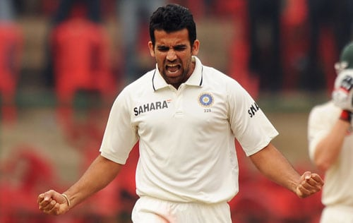 Zaheer Khan (986) needs 14 runs to complete the double of 1,000 runs and 200 wickets. He would be joining the four Indian all-rounders - Kapil Dev, Javagal Srinath, Anil Kumble and Harbhajan Singh.