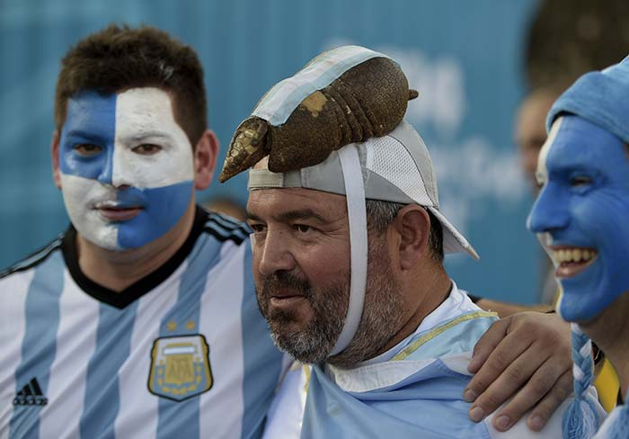 FIFA World Cup: Argentina Fans Party After 1st Win ...