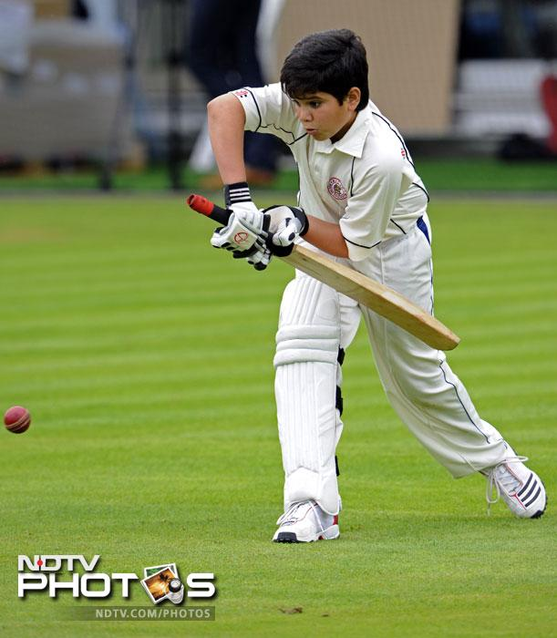 Playing at Lord's is one of the most cherished dreams of every cricketer but Tendulkar Jr has accomplished it at a very young age. (AP Photo)