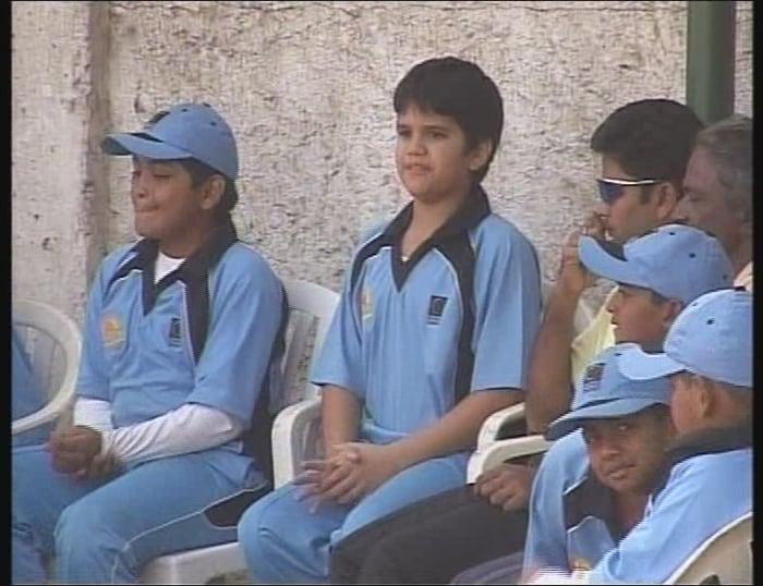 Arjun Tendulkar, the legendar Sachin Tendulkar's son, has been training with coaches Chandu Bhatkar and Jagdish Chavan at MIG Club in Kalanagar for the past 5 months.