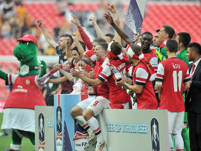 Arsenal Beat Hull City 3-2 to Win FA Cup, Break Title Drought