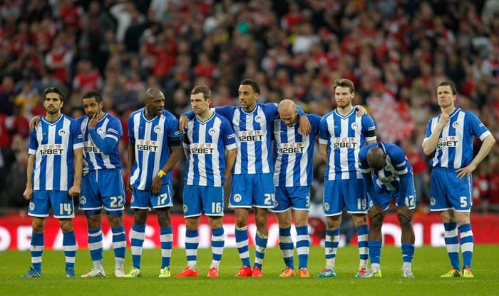 Championship side Wigan, who are also the holders of the FA Cup, put in a spirited performance against the top-flight EPL club to take the game till penalties.