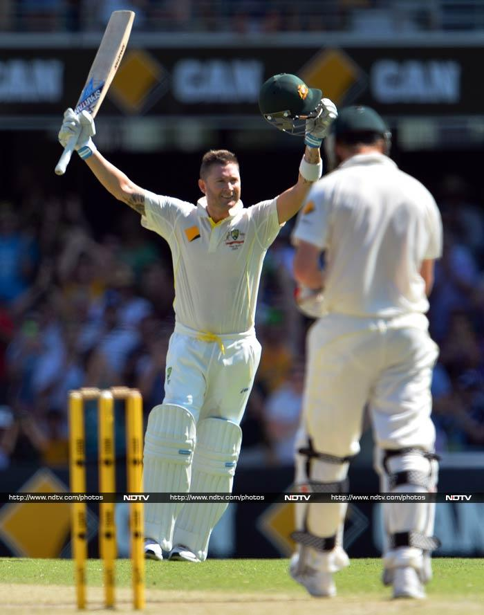 The Aussie skipper batted confidently to notch up 113.