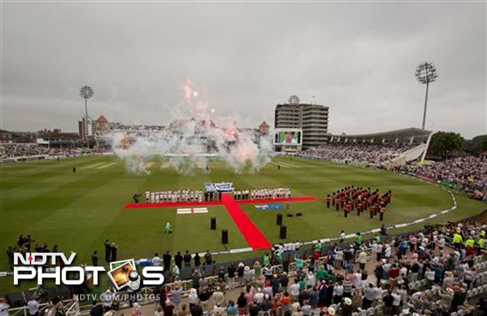 It was a packed house at Nottingham as fans came in huge numbers to cheer their teams.