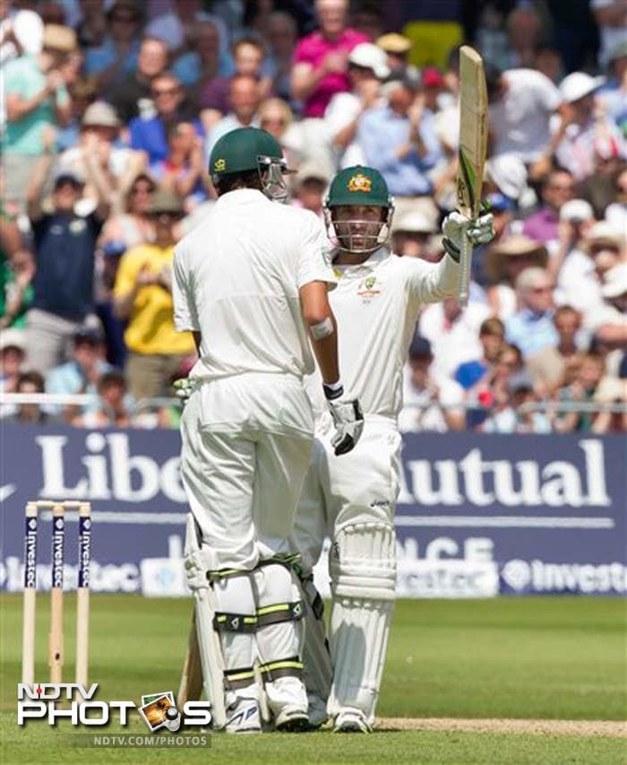 Though Phil Hughes was managing to hold his ground from one end, he needed someone to support him from the other. In stepped the last man in Agar.