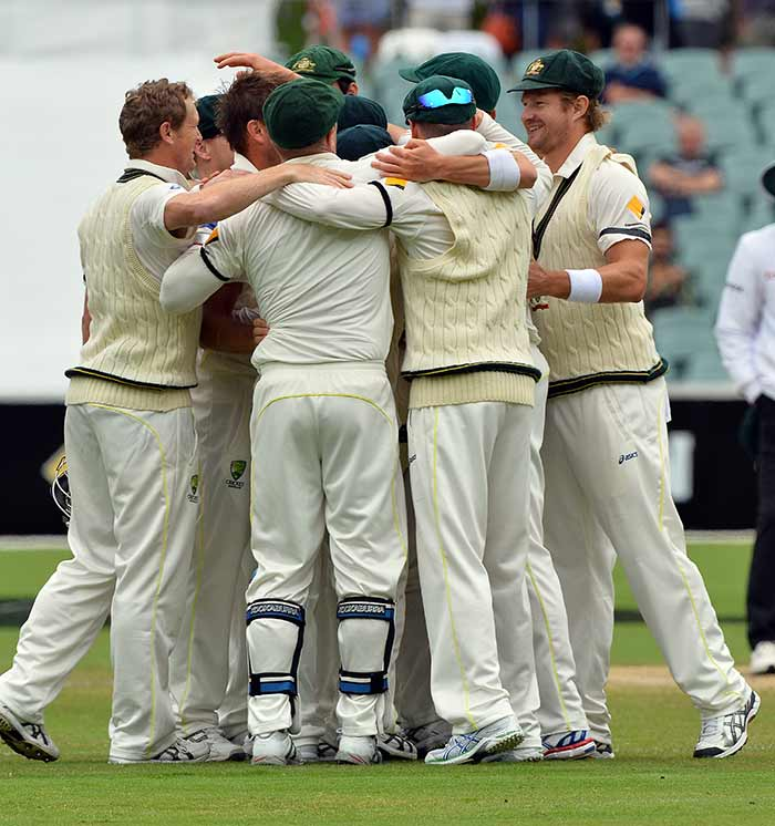 Australia took a 2-0 lead over England in the Ashes 2013-14 and moved a step towards reclaiming the urn.
