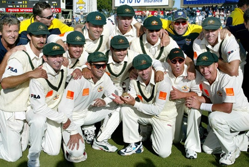 The world saw some great contests between the two countries in the following years before Australia began the dominant side in the Ashes. They retained the trophy for 16 years. This was the time when Australia were on top of their game with players like Steve Waugh, McGrath, Matthew Hayden, Shane Warne in their wing. However, things changed in 2005. (AFP Photo)