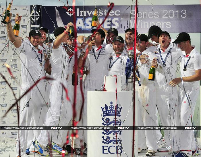 The draw meant England, who'd already retained the Ashes, finished the five-match contest as 3-0 winners having triumphed in three successive Test series against Australia for the first time since the 1950s.