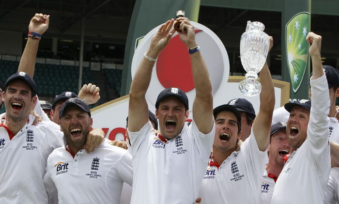 With the 2013 edition of the Ashes coming up, here is a look at how England won the last Ashes series played in 2010-11 Down Under. (Photos AP and AFP)